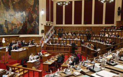 Vote du budget de la Métropole Nice Côte d'Azur
