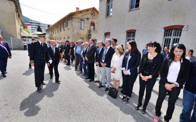 Cérémonie en hommage aux policiers morts pour la France
