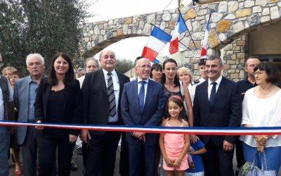 Inauguration de la Salle des Fêtes de Castagniers