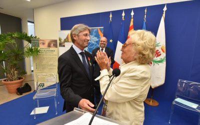 Remise de la Légion d'honneur à Mr Bouvier, ancien Directeur du CHU de Nice