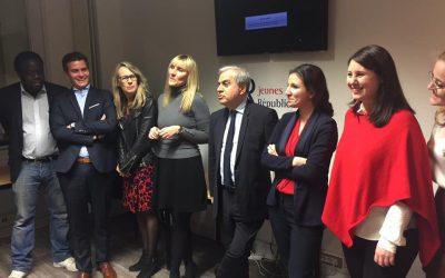 Avec les Jeunes Républicains de Hauts de Seine, en route pour l'alternance en 2017 !