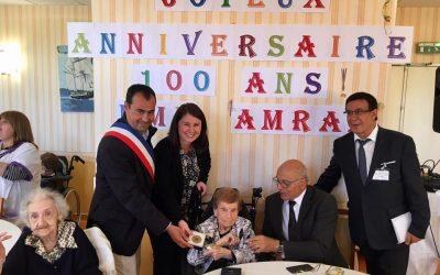 Remise de la médaille de la Ville de Nice à Madame Rachel Amram