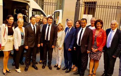 Lancement de l'Acte II des Assises de la Proximité par Christian Estrosi et Philippe Pradal