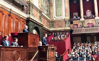 Congrès du Parlement : je soutiendrai la réforme de la diminution d'un tiers du nombre de parlementaires !