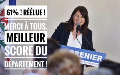 Réélection à la tête de la 5ème circonscription des Alpes-Maritimes