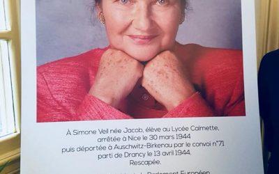 Hommage à Simone Veil