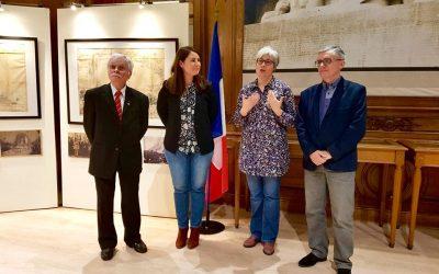 Vernissage de l'exposition «Pierres du souvenir»