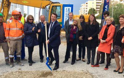 Lancement des travaux de la ligne 3 du Tramway de la Ville de Nice