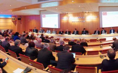 Réunion à la CCI Nice Côte d'Azur pour présenter les excellents résultats de la Métropole Nice Côte d'Azur