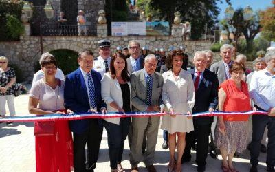 Inauguration de la nouvelle place Saint-Claude à Aspremont