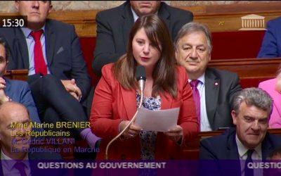 Question au Ministre de l'Agriculture et de l'Alimentation