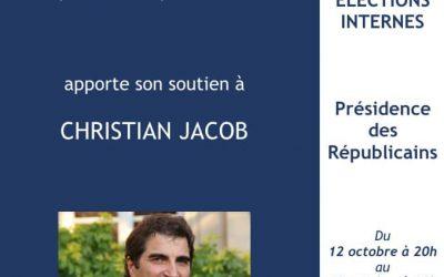 Rassemblons-nous derrière Christian Jacob !