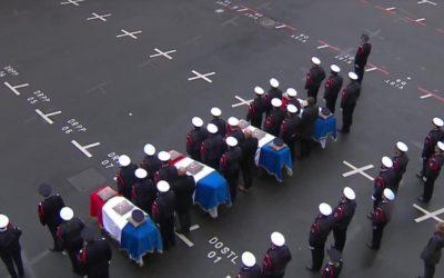 La France rend hommage à ses dévoués agents