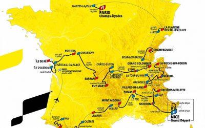 La Ville de Nice va accueillir le Grand Départ du Tour de France cet été !