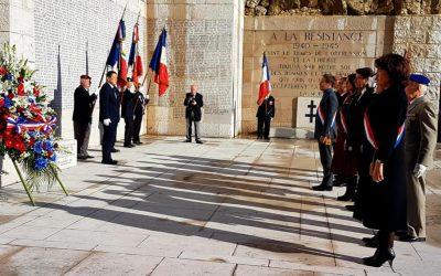 LaVille de Nicerend hommage aux soldats morts sur le théâtre des opérations au Mali.