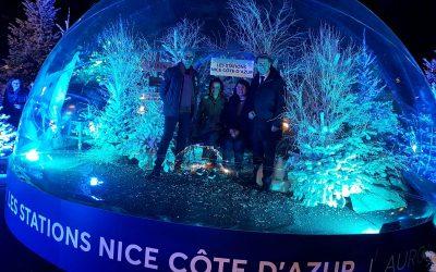 Venez profiter du village de Noël à Nice !