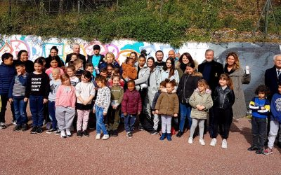 Lancement des murs de street art dans Nice.