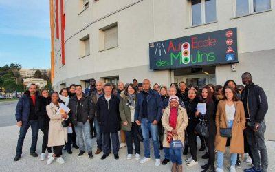 Encore une semaine de mobilisation dans les quartiers ouest de Nice pourChristian Estrosi