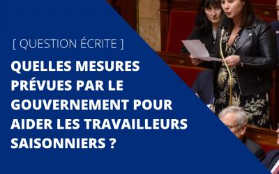 🏛 Assemblée nationale / Question écrite / Covid-19 / Économie