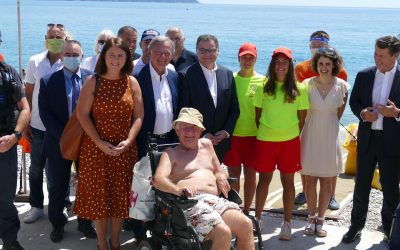 ♿️ Présentation du dispositif d'accessibilité des plages pour les personnes en situation de handicap