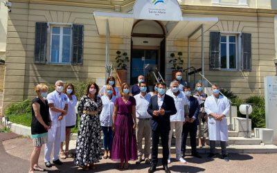Lancement des grands travaux de rénovation de l'Hôpital Sainte-Marie