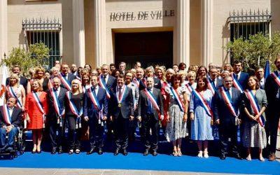 Nouveau conseil municipal de Nice