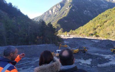 Vallée de la Tinée : 10 jours après la tempête Alex