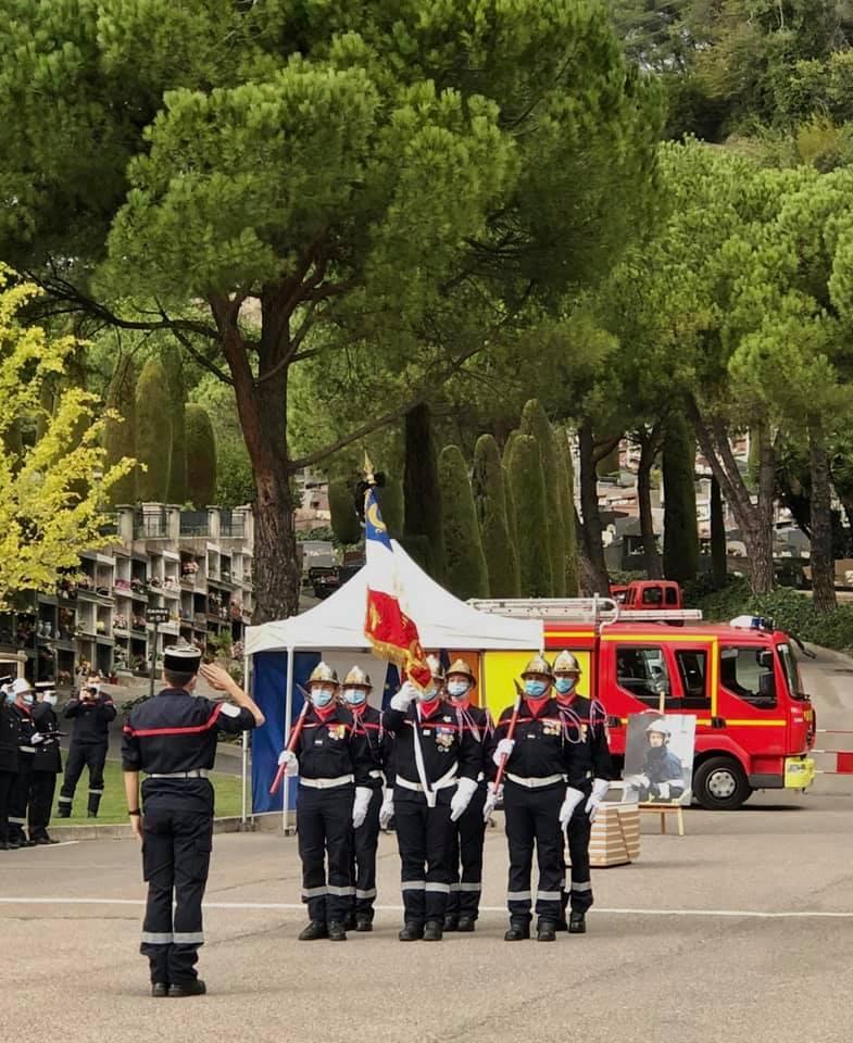 Nous étions réunis à l'athanée de Cagnes-sur-Mer avec la grande famille des Sapeurs-pompiers de France, touchée en plein cœur depuis la disparition tragique du capitaine Bruno Kohlhuber.