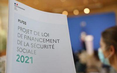 Ouverture de l'examen du projet de loi sur le financement de la Sécurité Sociale pour 2021
