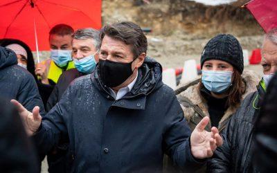 Tempête Alex : La reconstruction se poursuit dans la Vésubie