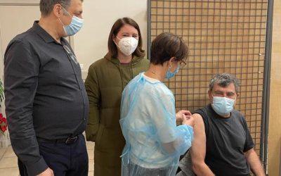Grande opération vaccinale dans la Métropole Nice Côte d'Azur