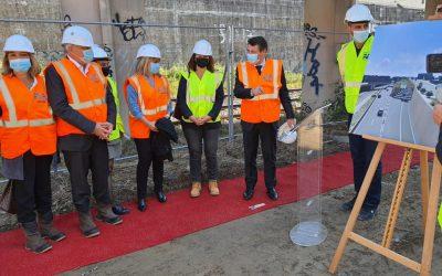 Lancement des travaux du souterrain entre la sortie ouest de la voie Mathis et l'autoroute A8