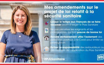 Projet de loi relatif à la sécurité sanitaire : mes amendements pour protéger les français !