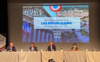 Journées parlementaires Les Républicains à Nîmes !