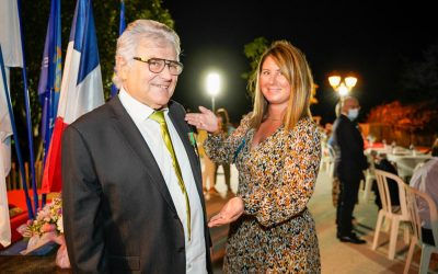 André Giauffret reçoit ses insignes de Chevalier dans l'Ordre National du Mérite Agricole